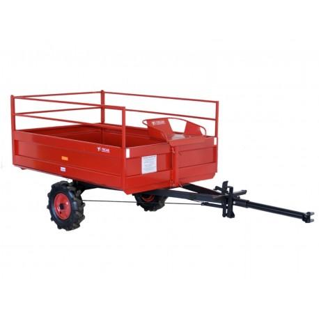 Prívesný vozík nebrzdený PVT-400 N